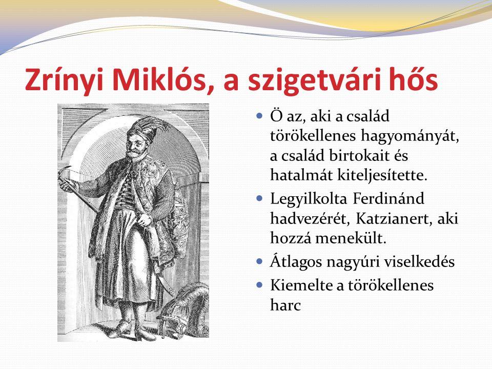 Zrínyi Miklós, a szigetvári hős