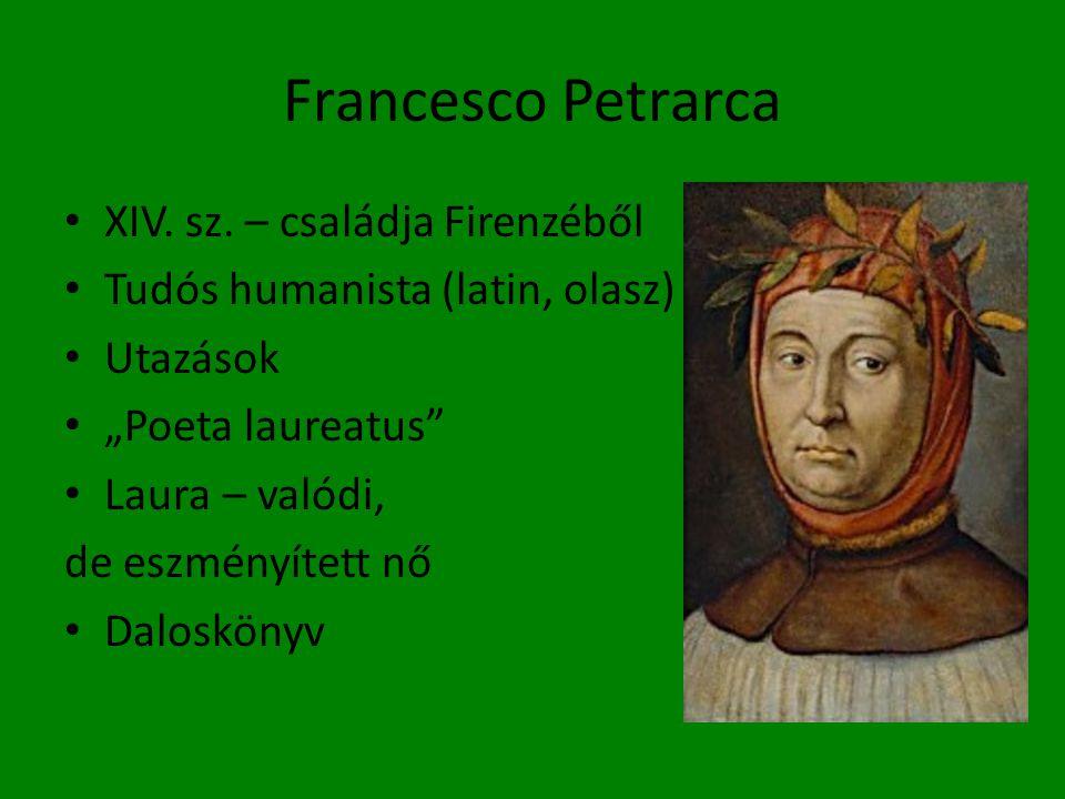 Francesco Petrarca XIV. sz. – családja Firenzéből