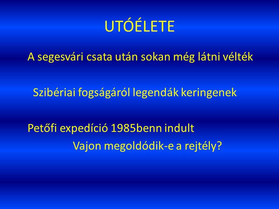 UTÓÉLETE