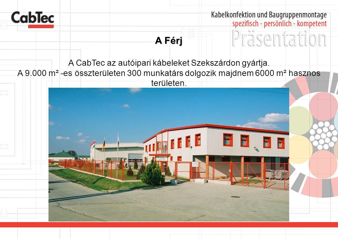 A CabTec az autóipari kábeleket Szekszárdon gyártja.
