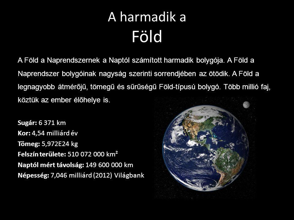 A harmadik a Föld