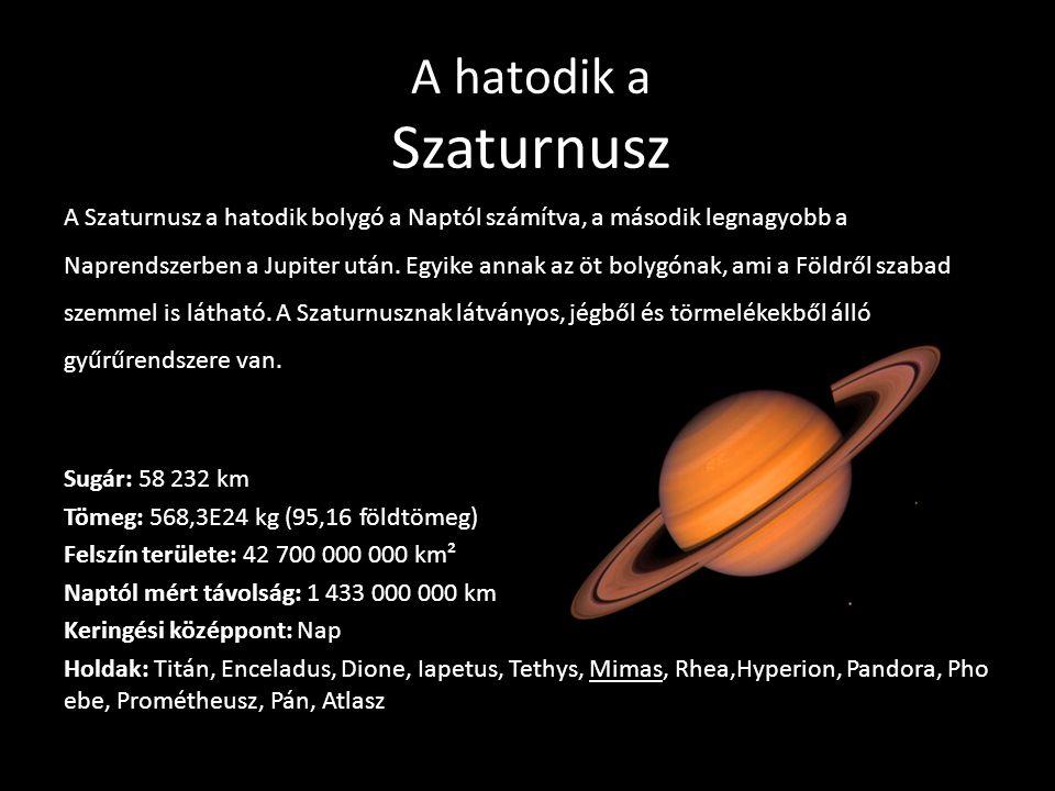 A hatodik a Szaturnusz