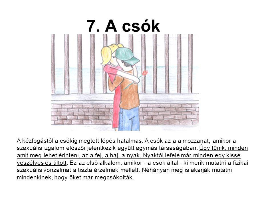 7. A csók