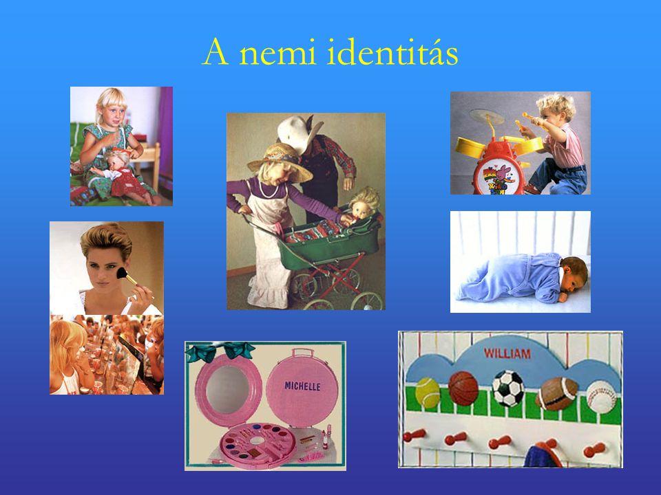 A nemi identitás