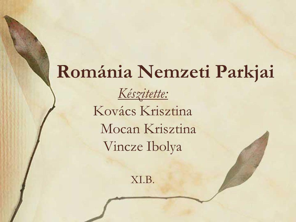 Románia Nemzeti Parkjai