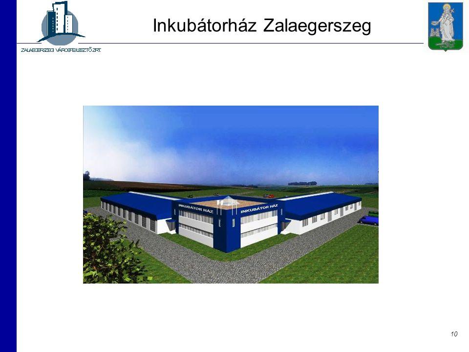 Inkubátorház Zalaegerszeg