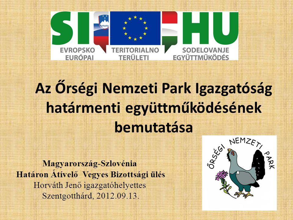 Magyarország-Szlovénia Határon Átívelő Vegyes Bizottsági ülés
