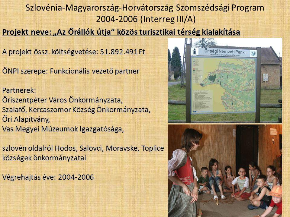 Szlovénia-Magyarország-Horvátország Szomszédsági Program