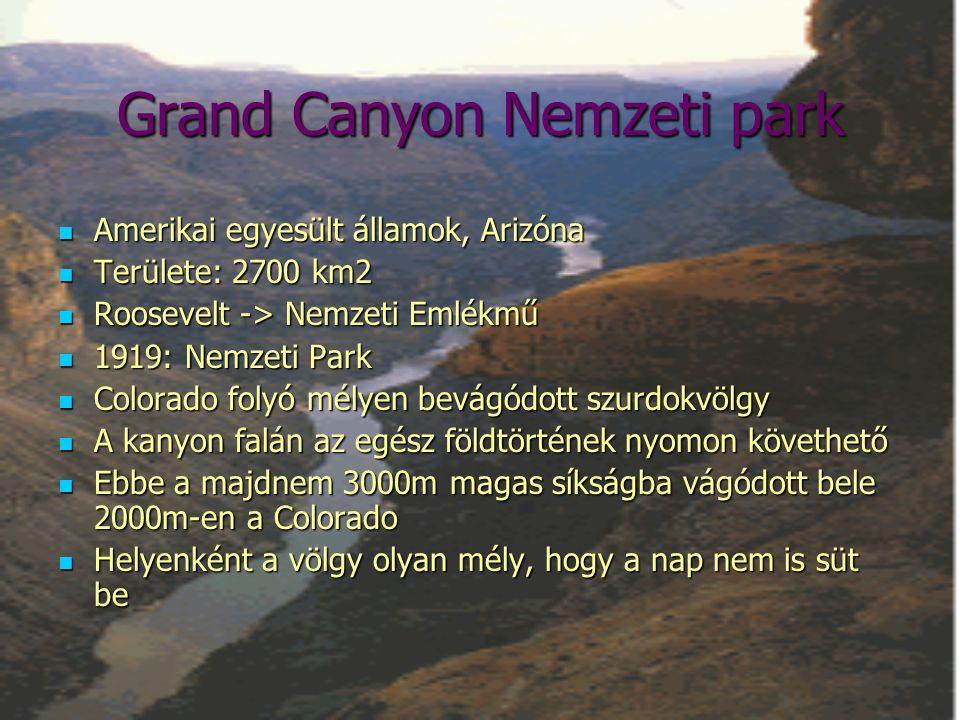 Grand Canyon Nemzeti park