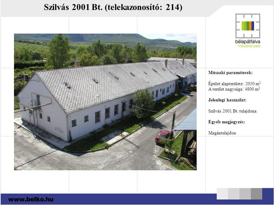 Szilvás 2001 Bt. (telekazonosító: 214)
