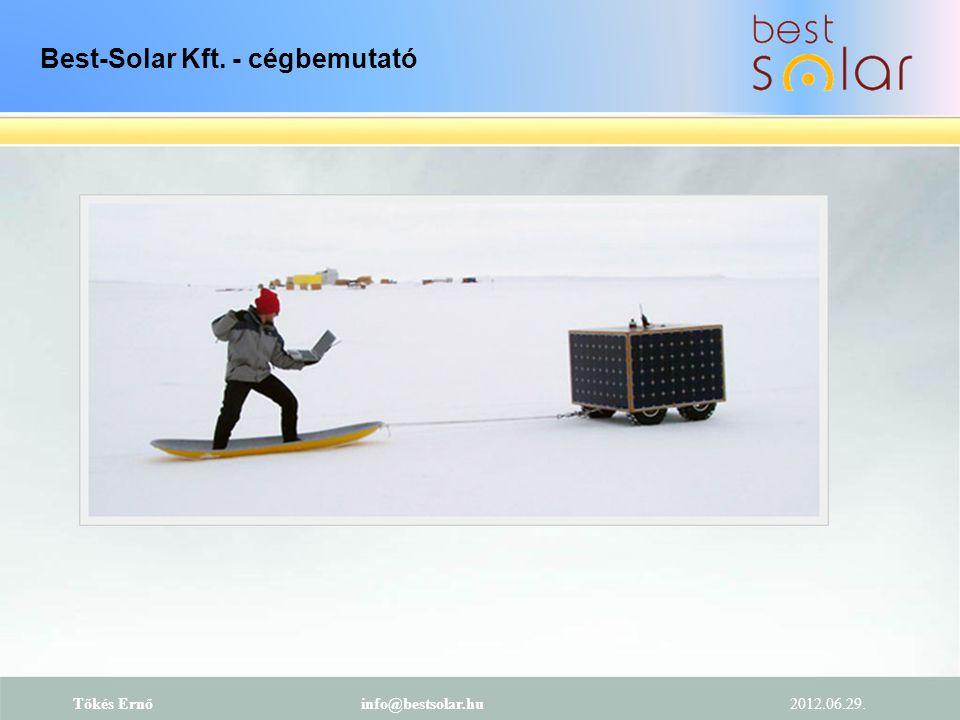 Best-Solar Kft. - cégbemutató
