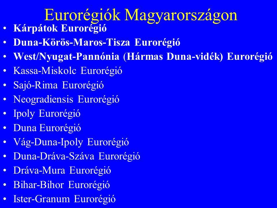 Eurorégiók Magyarországon