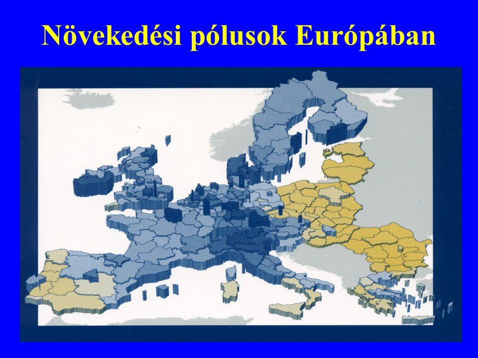 Növekedési pólusok Európában