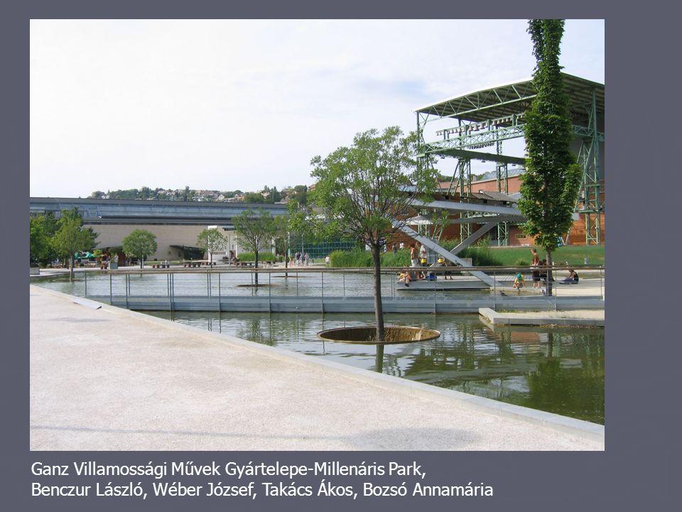 Ganz Villamossági Művek Gyártelepe-Millenáris Park,