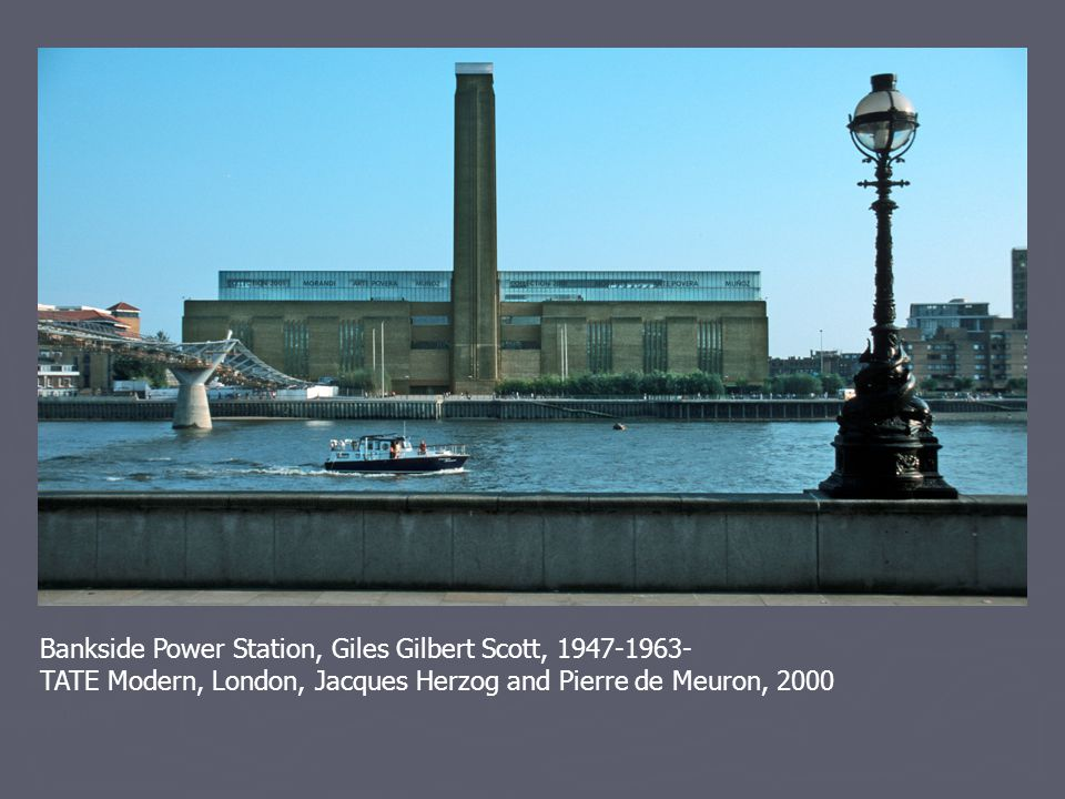 Bankside Power Station, Giles Gilbert Scott, 1947-1963-