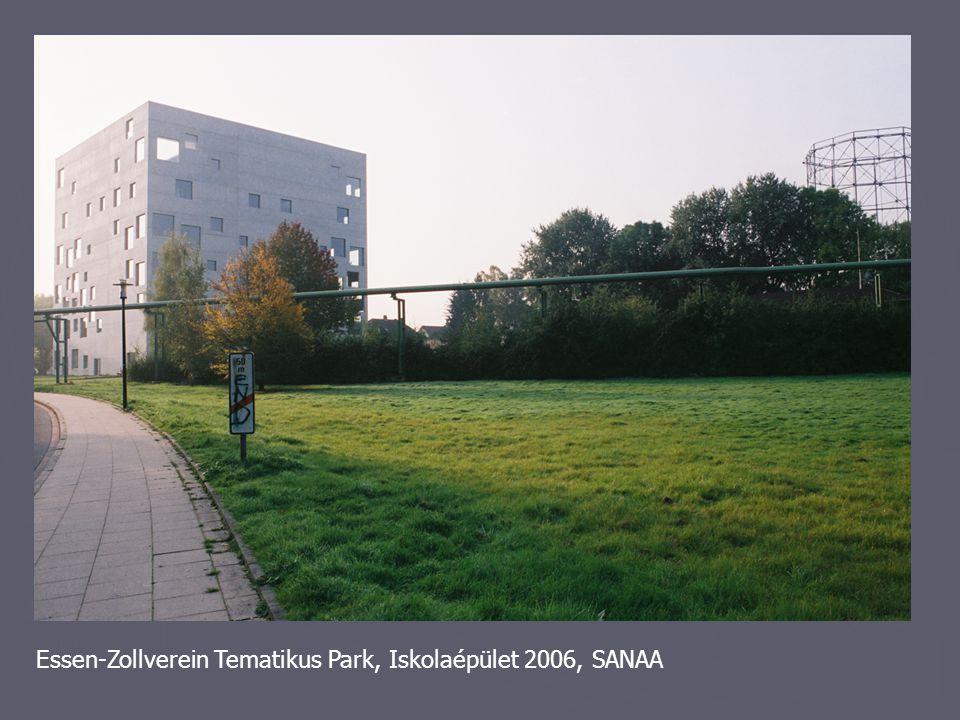 Essen-Zollverein Tematikus Park, Iskolaépület 2006, SANAA