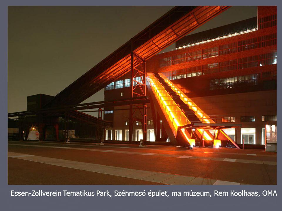 Essen-Zollverein Tematikus Park, Szénmosó épület, ma múzeum, Rem Koolhaas, OMA