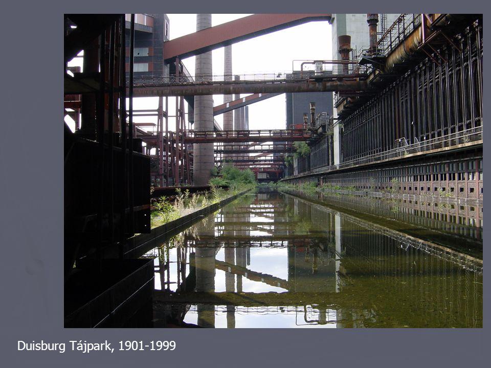 Duisburg Tájpark, 1901-1999