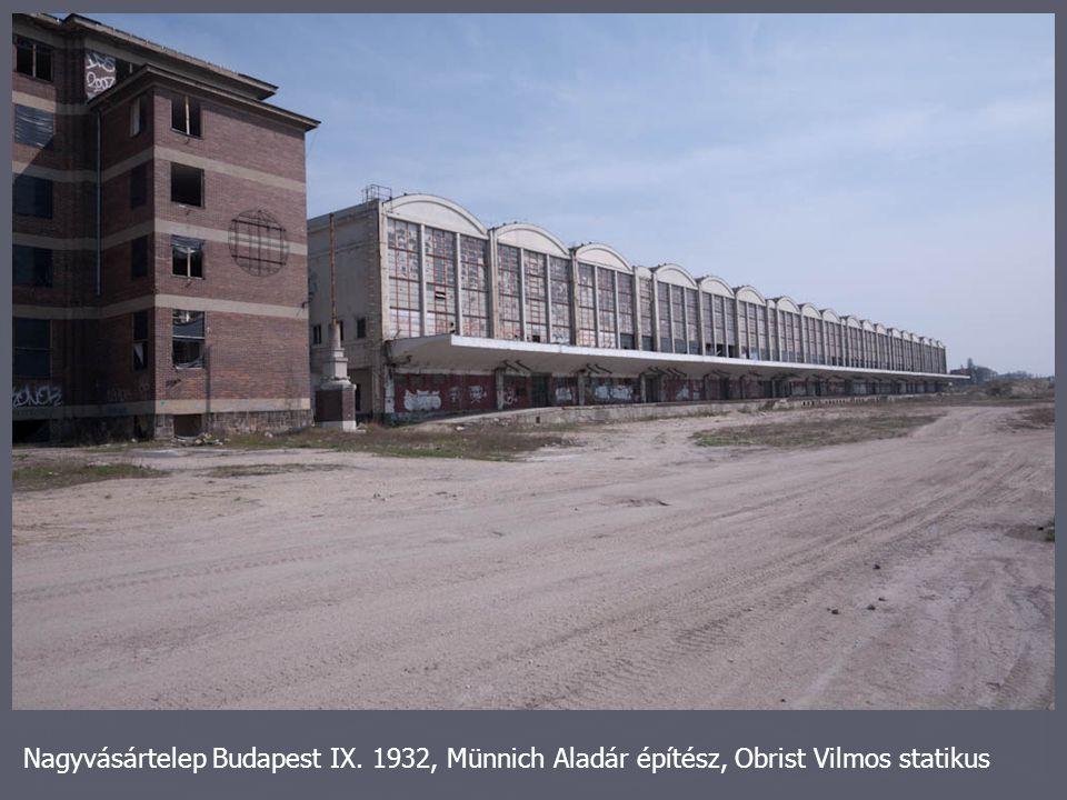 Nagyvásártelep Budapest IX
