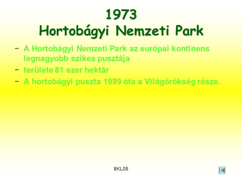 1973 Hortobágyi Nemzeti Park