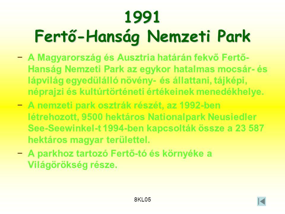 1991 Fertő-Hanság Nemzeti Park