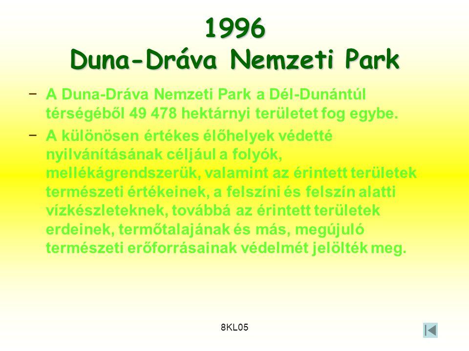 1996 Duna-Dráva Nemzeti Park