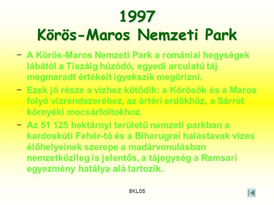 1997 Körös-Maros Nemzeti Park