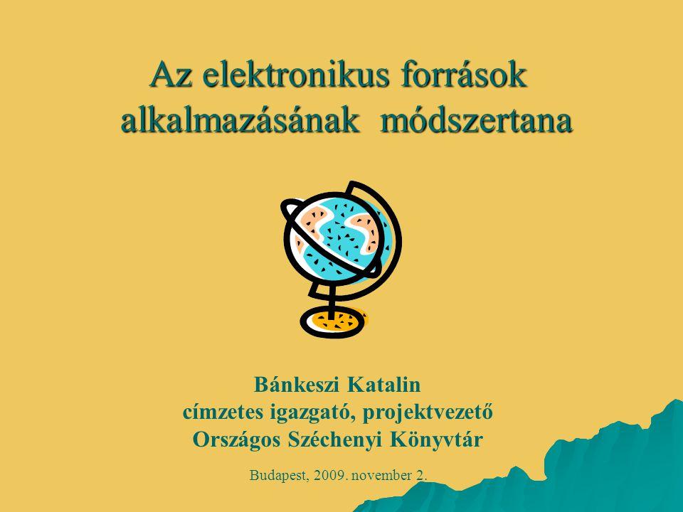 címzetes igazgató, projektvezető Országos Széchenyi Könyvtár