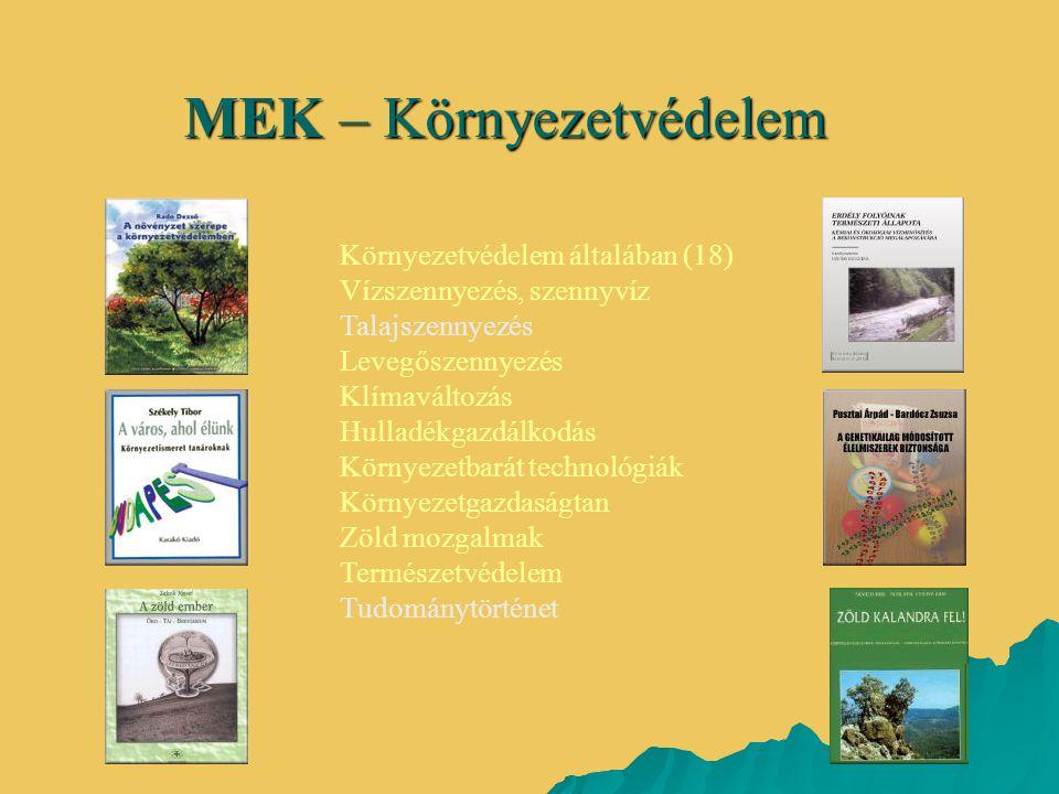 MEK – Környezetvédelem