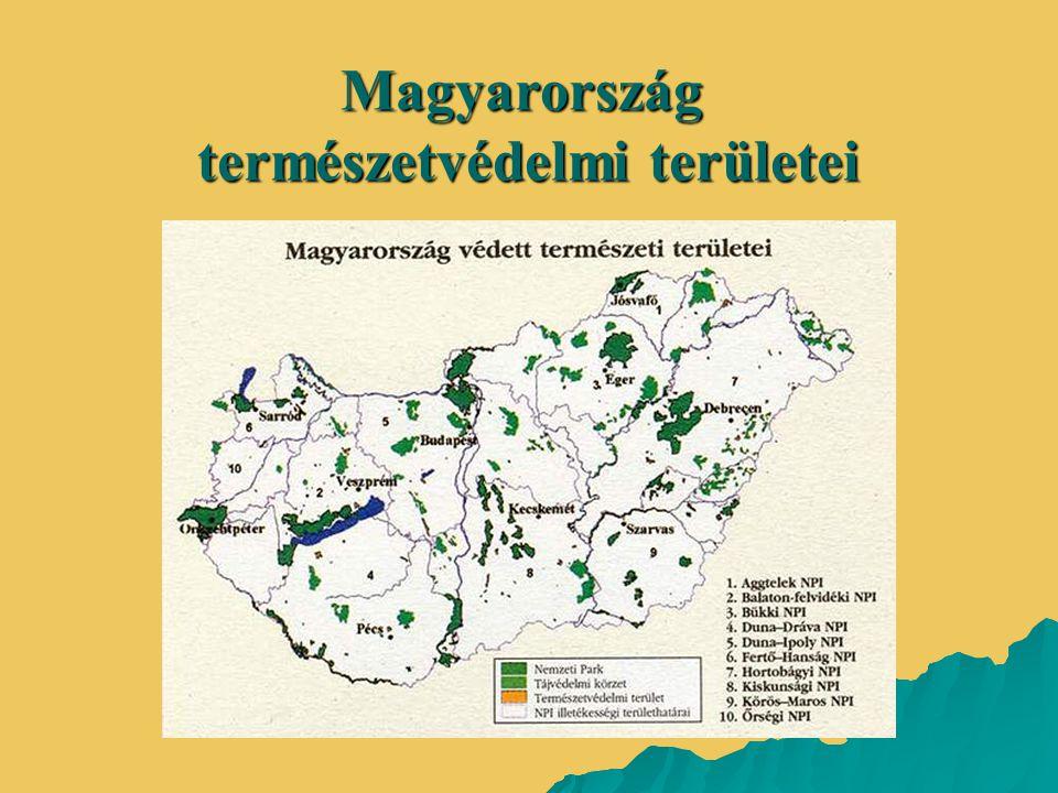 természetvédelmi területei