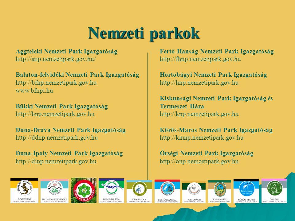 Nemzeti parkok Aggteleki Nemzeti Park Igazgatóság