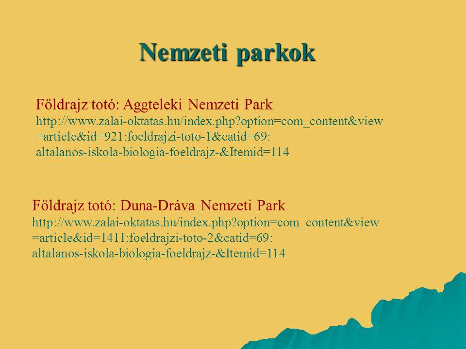 Nemzeti parkok Földrajz totó: Aggteleki Nemzeti Park