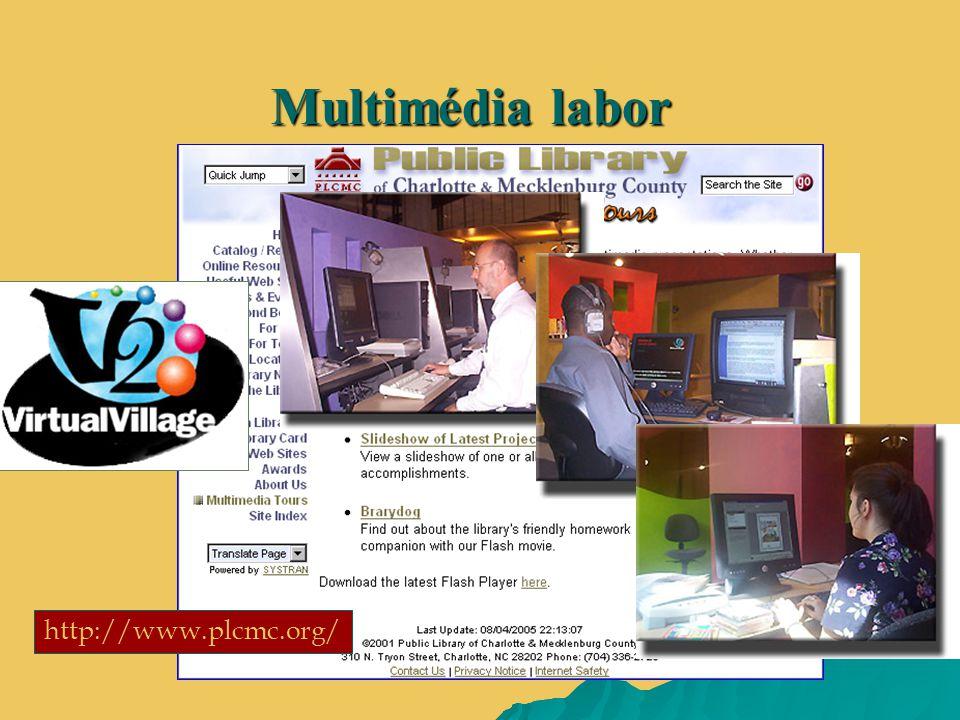 Multimédia labor http://www.plcmc.org/