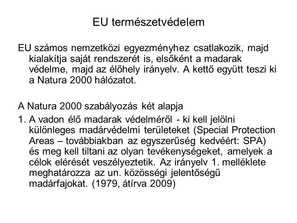EU természetvédelem