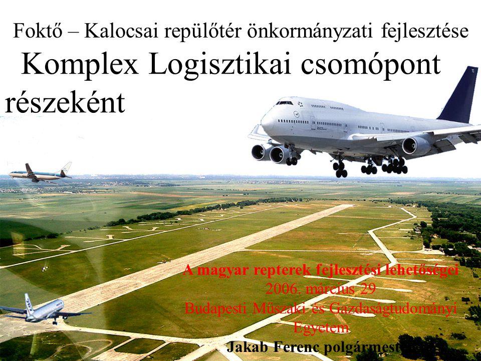 Foktő – Kalocsai repülőtér önkormányzati fejlesztése