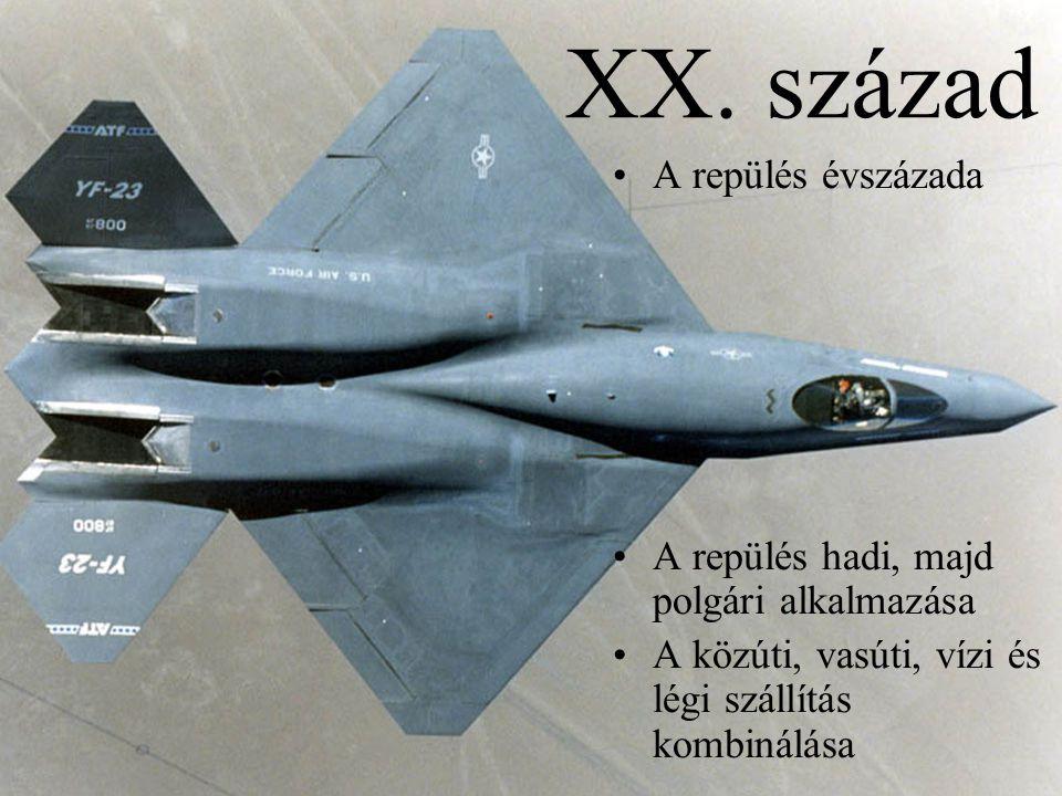 XX. század A repülés évszázada
