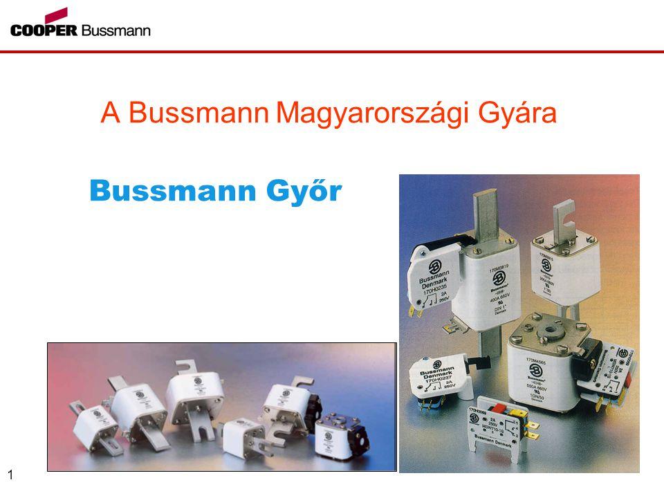 A Bussmann Magyarországi Gyára