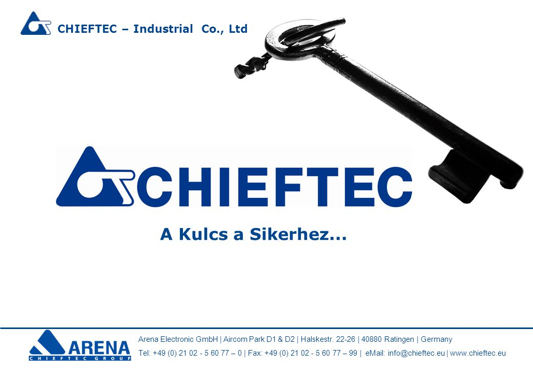 CHIEFTEC – Industrial Co., Ltd