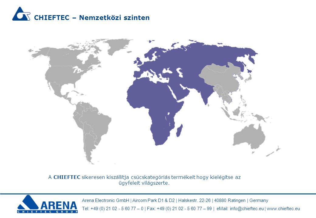 CHIEFTEC – Nemzetközi szinten