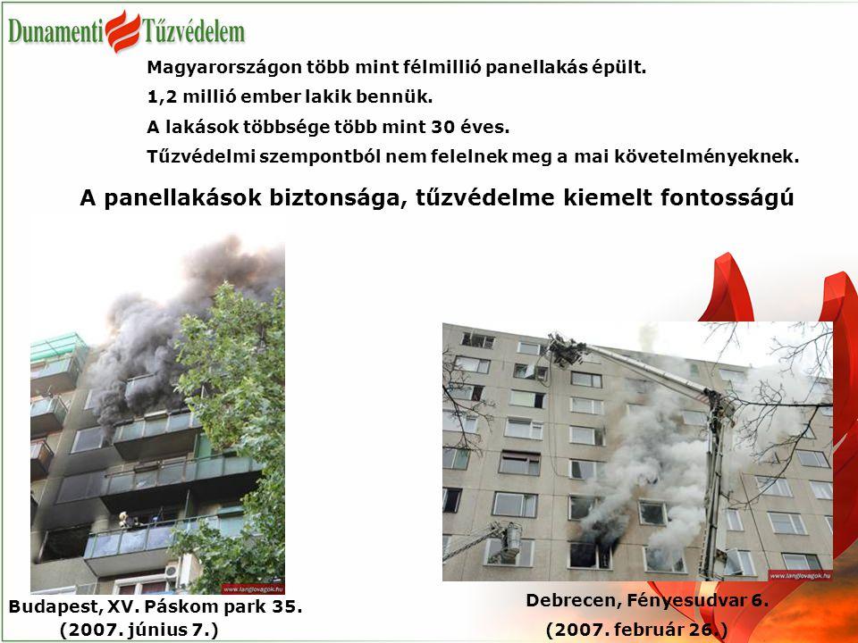 A panellakások biztonsága, tűzvédelme kiemelt fontosságú