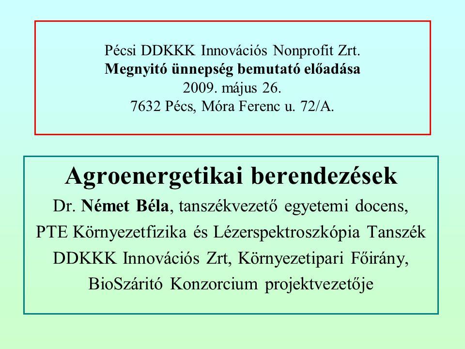 Agroenergetikai berendezések