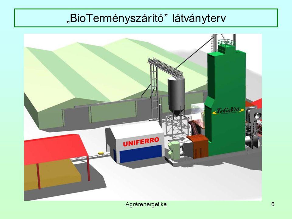 """""""BioTerményszárító látványterv"""