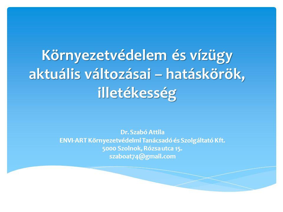 ENVI-ART Környezetvédelmi Tanácsadó és Szolgáltató Kft.