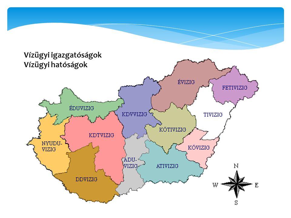 Vízügyi igazgatóságok