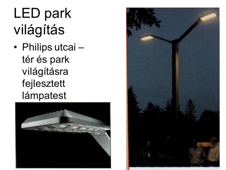 LED park világítás Philips utcai – tér és park világításra fejlesztett lámpatest