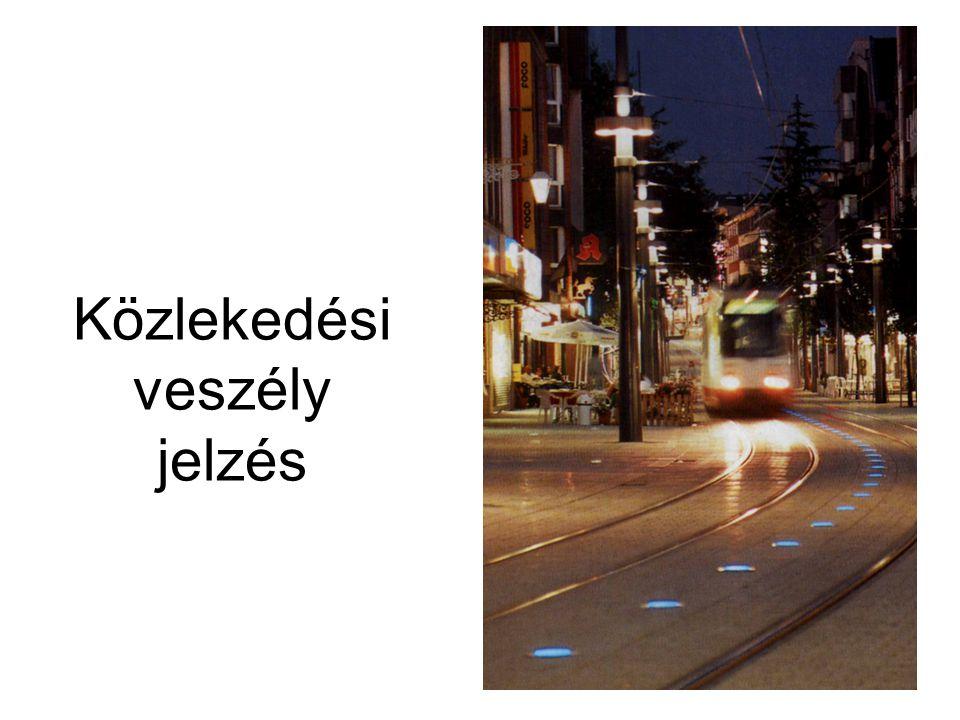 Közlekedési veszély jelzés