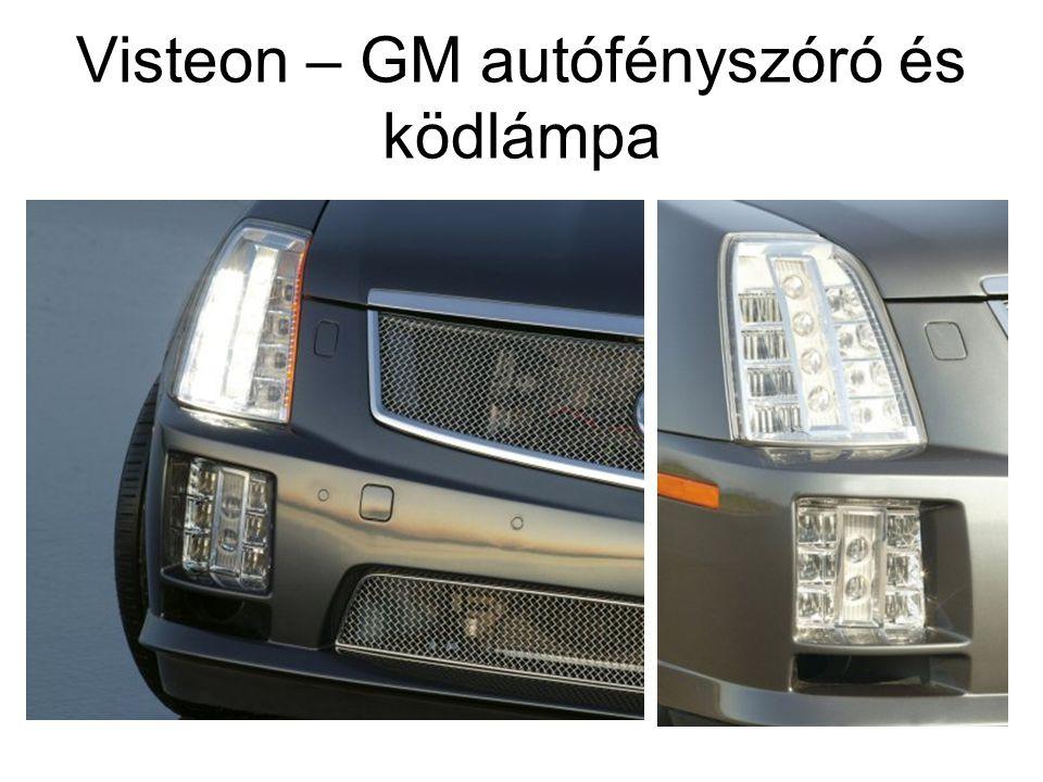 Visteon – GM autófényszóró és ködlámpa