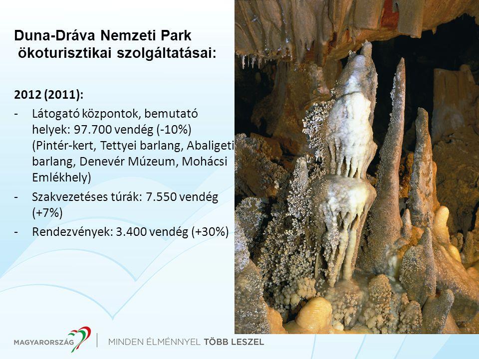 Duna-Dráva Nemzeti Park ökoturisztikai szolgáltatásai: