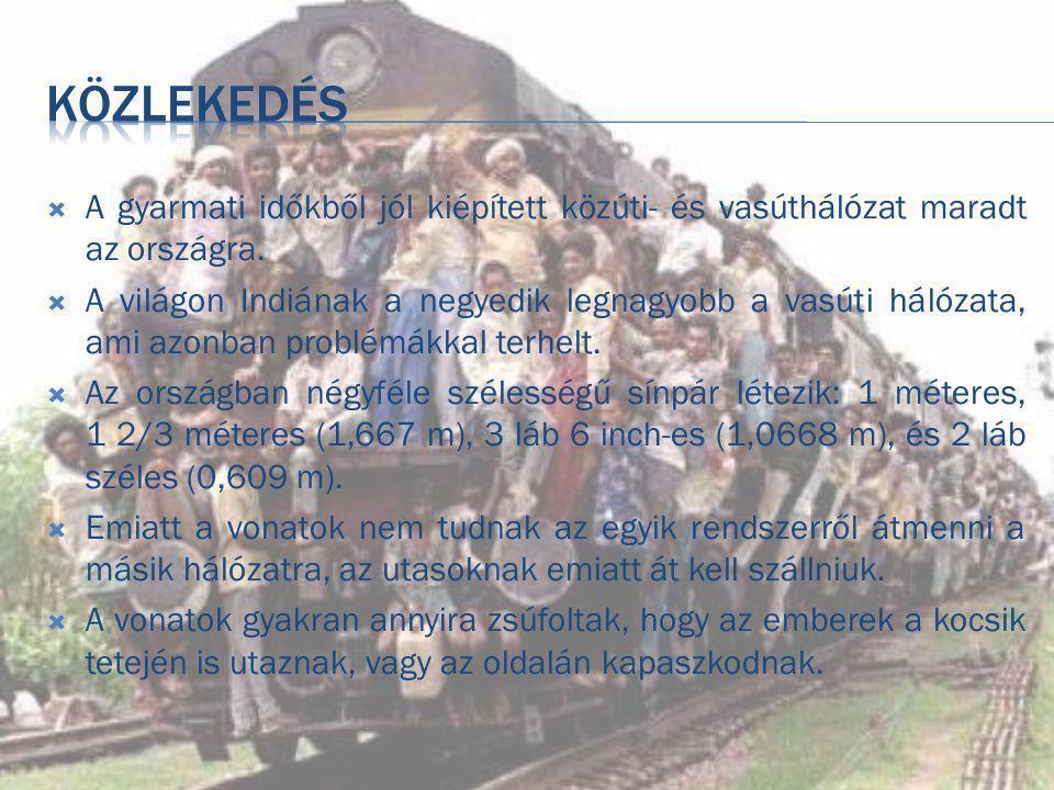 közlekedés A gyarmati időkből jól kiépített közúti- és vasúthálózat maradt az országra.