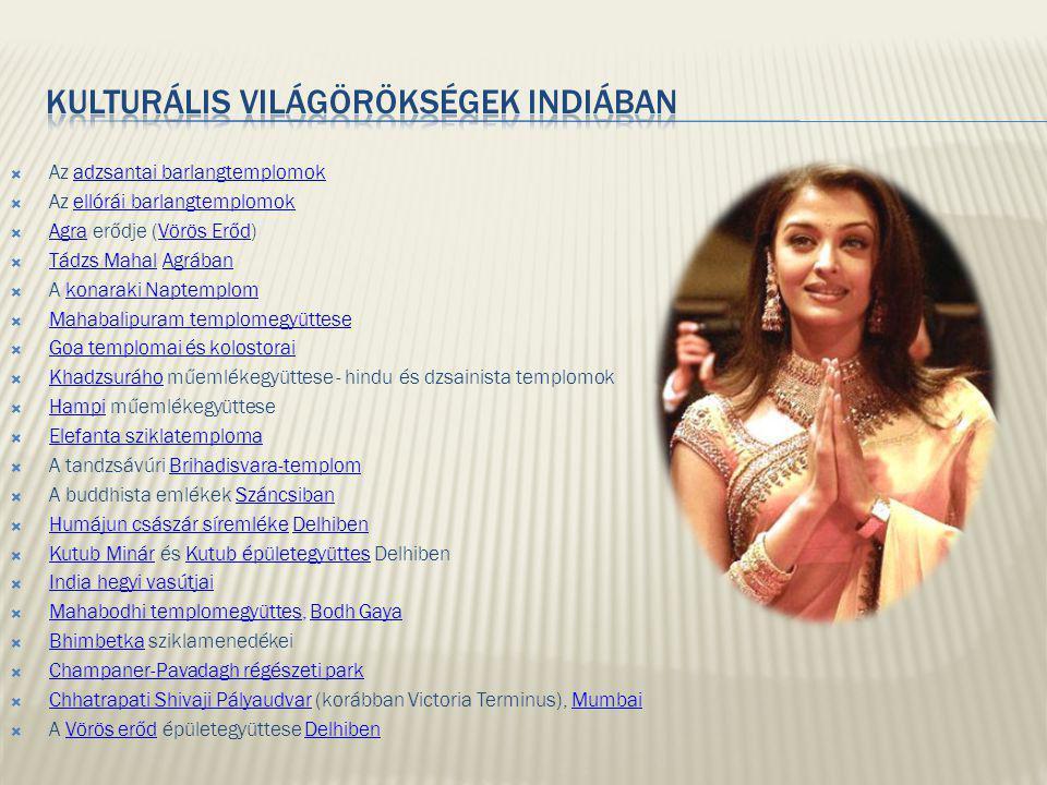 Kulturális Világörökségek Indiában
